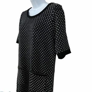 ALLISON BRITTNEY Women Sweater Dress Tunic Large